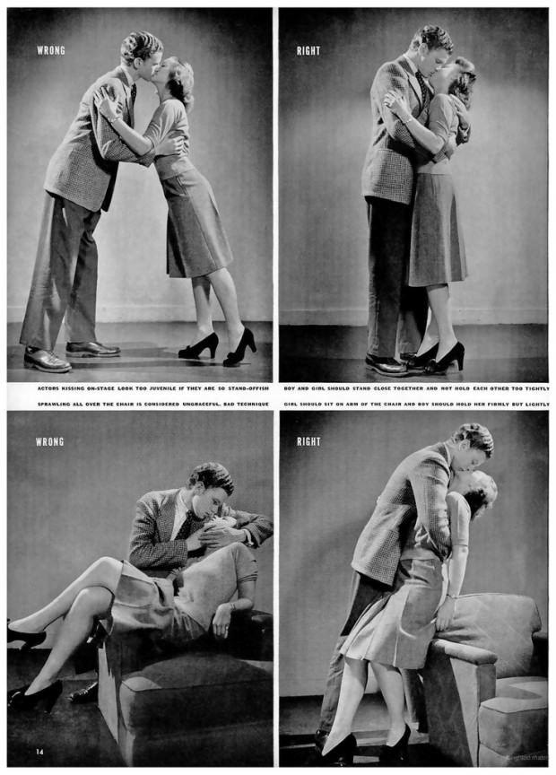 วิธีจูบที่ถูกและผิด