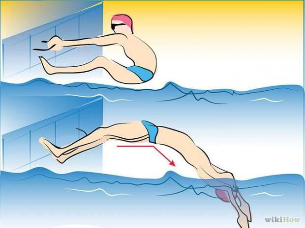 วิธีว่ายน้ำท่ากรรเชียง (1)