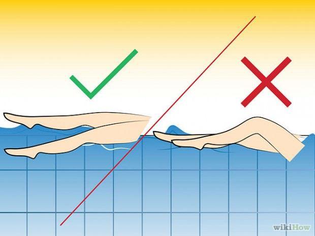 วิธีว่ายน้ำท่ากรรเชียง (21)