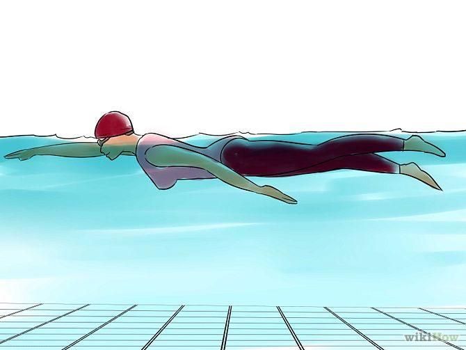 วิธีว่ายน้ำท่าฟรีสไตล์ (3)