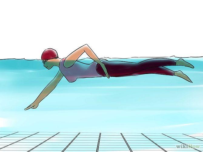 วิธีว่ายน้ำท่าฟรีสไตล์ (4)