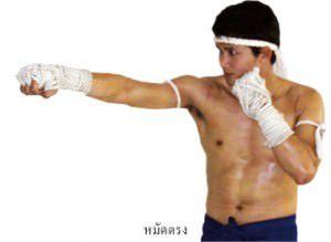 วิธีต่อยมวยไทย (2)