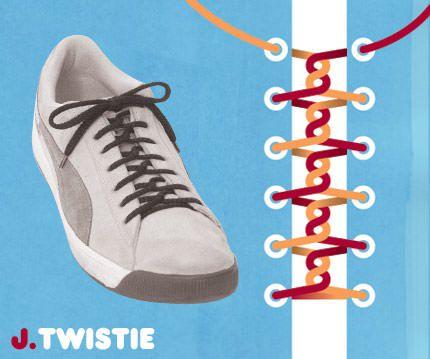 วิธีผูกเชือกรองเท้าแบบ Twistie
