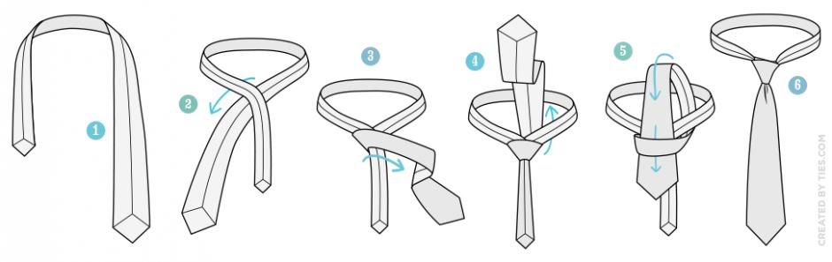 วิธีผูกไทแบบ Simple Knot