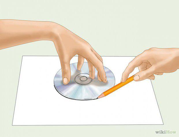 วิธีวาดวงกลมโดยใช้ CD