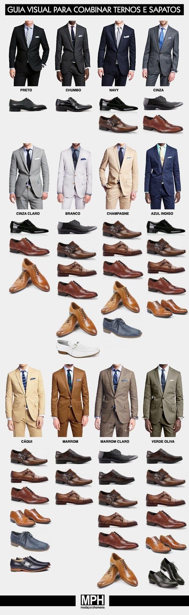 วิธีเลือกรองเท้าให้เข้ากับสูท