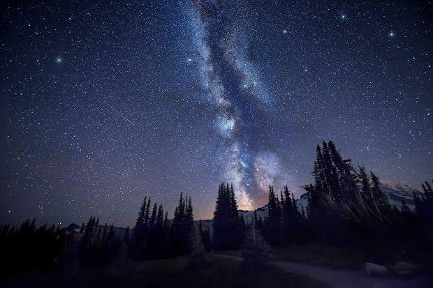 Spires- Mount Rainier, Washington