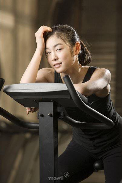 Yuka Kim ยูนะ คิม นักกีฬาสเกตเกาหลี Korean Cute Sexy1