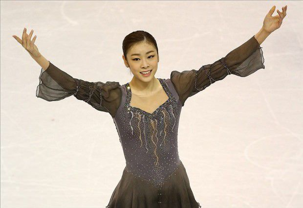 Yuka Kim ยูนะ คิม นักกีฬาสเกตเกาหลี Korean Cute Sexy10