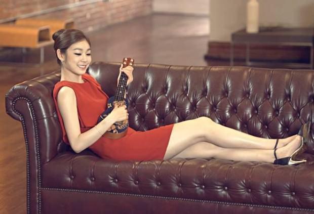 Yuka Kim ยูนะ คิม นักกีฬาสเกตเกาหลี Korean Cute Sexy11