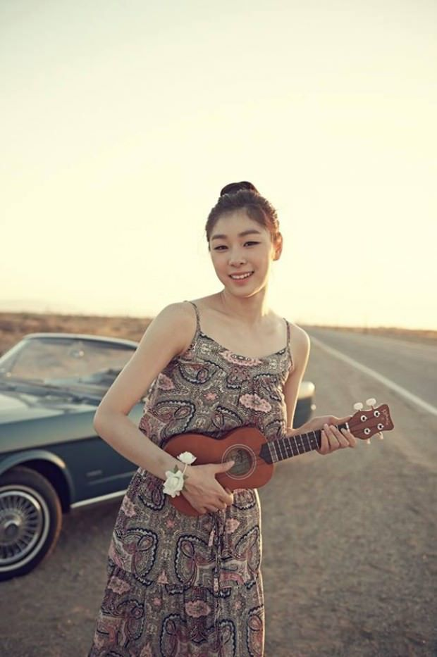 Yuka Kim ยูนะ คิม นักกีฬาสเกตเกาหลี Korean Cute Sexy13