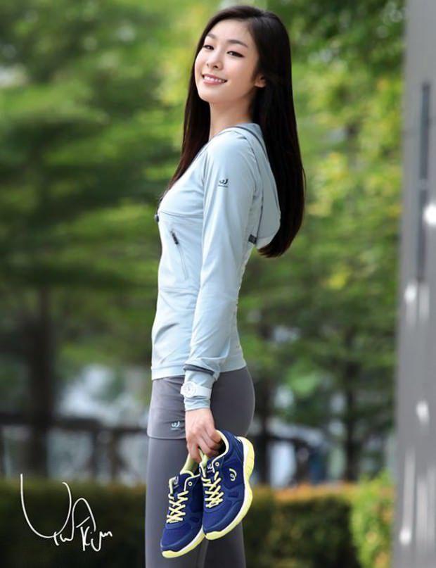 Yuka Kim ยูนะ คิม นักกีฬาสเกตเกาหลี Korean Cute Sexy15