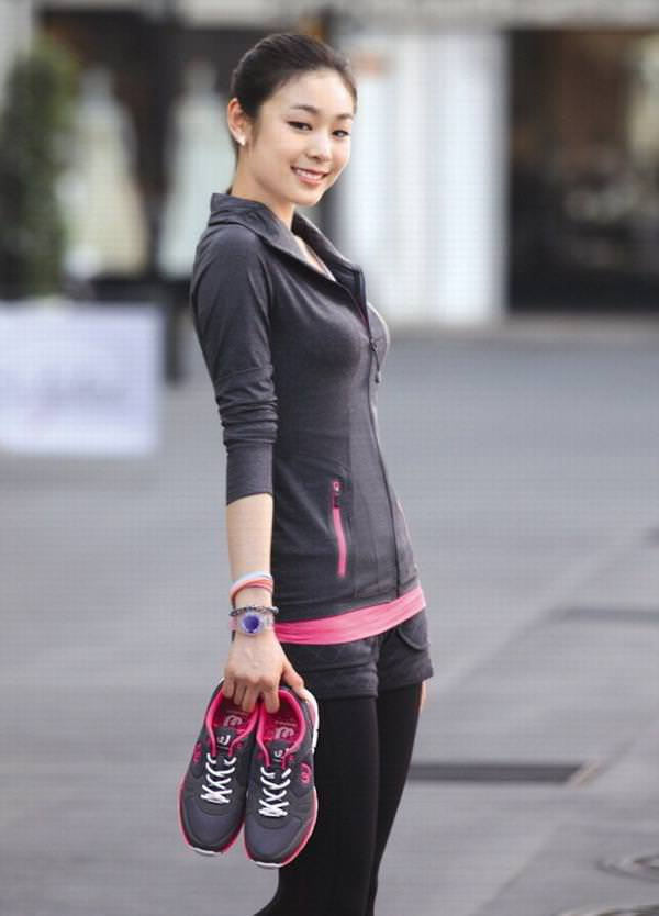 Yuka Kim ยูนะ คิม นักกีฬาสเกตเกาหลี Korean Cute Sexy16