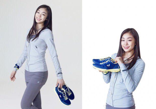 Yuka Kim ยูนะ คิม นักกีฬาสเกตเกาหลี Korean Cute Sexy17