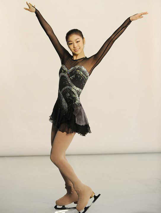 Yuka Kim ยูนะ คิม นักกีฬาสเกตเกาหลี Korean Cute Sexy4