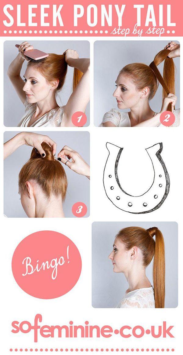 วิธีมัดผมหางม้าผู้หญิงสวยๆ Pony Tail7