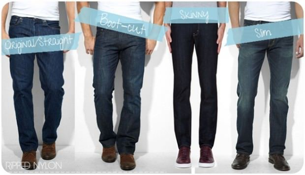 วิธีเลือกกางเกงยีนส์ให้เหมาะกับรูปร่าง ผู้ชาย1