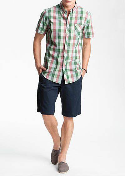 วิธีใส่กางเกงขาสั้นให้ดูดี-ผู้ชาย4