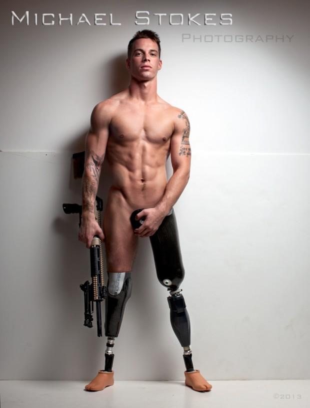 วิธีระดมทุนหลักล้านโดยใช้ภาพนู้ดทหารพิการ6