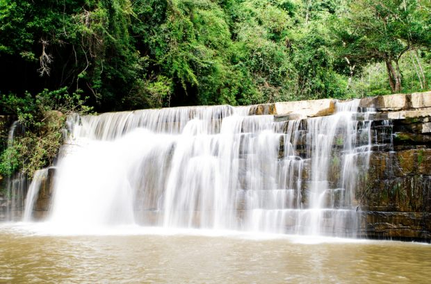Sri Dit waterfall in Khao kho National Park